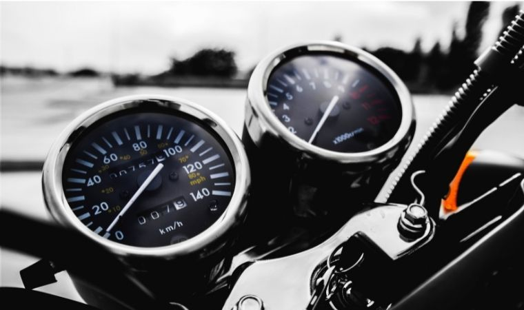 what is considered high mileage for a motorcycle