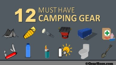 12 must have camping gear