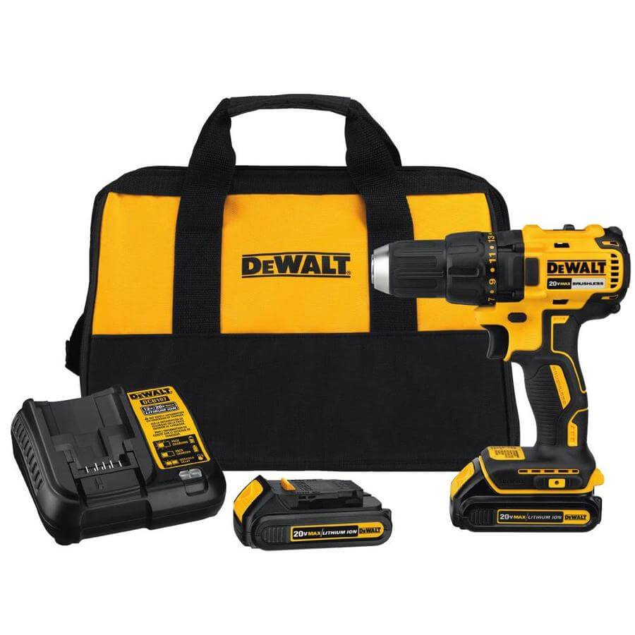 what is a brushless drill