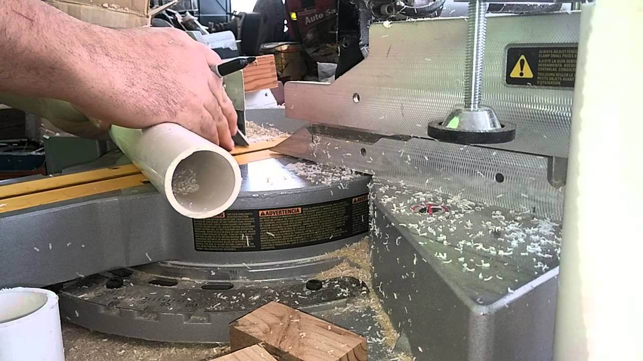 How To Cut PVC Pipe With A Miter Saw? (3 STEPS)