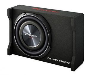 Pioneer inch Shallow Mount Pre-Loaded Enclosure