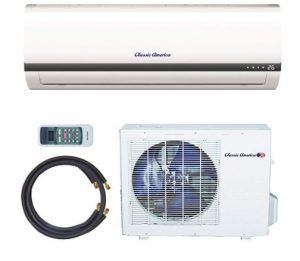 Classic America Ductless Wall Mount Mini Split Inverter Air Conditioner
