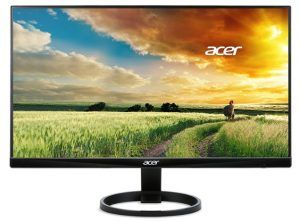 "Acer R240HY Abmidx 23.8"" Full HD (1920 x 1080) VA Monitor"