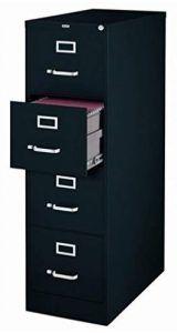 """Scranton & Co 4 Drawer 22"""" Deep Letter File Cabinet"""