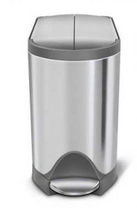 Simplehuman Butterfly Step Trash Can
