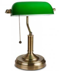 TORCHSTAR Traditional Banker's Lamp