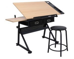 ZENY Height Adjustable Drafting Draft Desk
