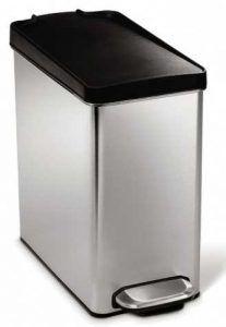 simplehuman 10 Liter / 2.6 Gallon Stainless Steel