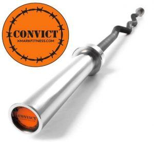 The Warden's Package, XMark Convict 6' Rackable Olympic EZ Curl Bar