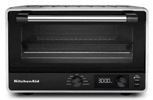 KitchenAid KCO211BM Digital Countertop Toaster Oven