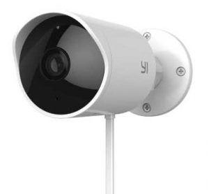 YI Outdoor Security Camera, 1080P 2.4G Wireless IP Waterproof