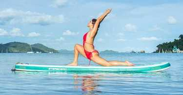 best inflatable yoga paddle board