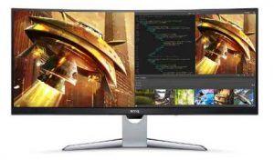 BenQ EX3501R Curved QHD Monitor