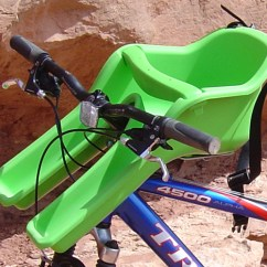 The Bike Chair All Steel Center Mounted Child Seats Review Ibert Safe T Seat Kangaroo Weeride