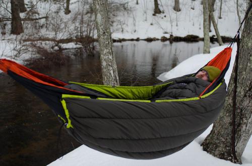 The 600 Winter Hammock Experience