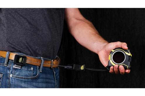 Tape Measure Tethers for Tools at Heights