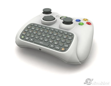 Xbox 360 Text Input Device Preview IGN
