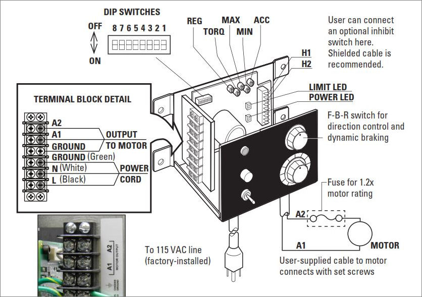 Bodine 115v Ac Electric Motor Wiring Diagram : 44 Wiring