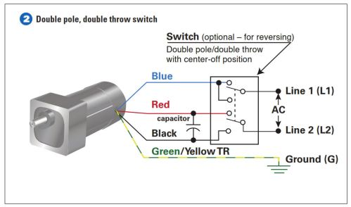 How To Connect a Reversing Switch to a 3 or 4Wire (PSC