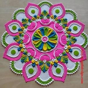rangoli designs new