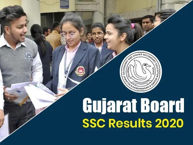 GSEB SSC HSC Result June 2020