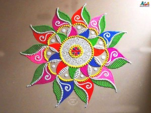 rangoli with designs