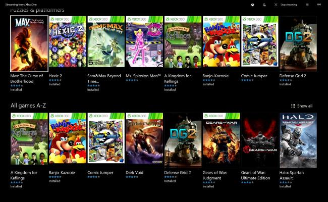 Here S A List Of Games And Publishers Available In Xbox