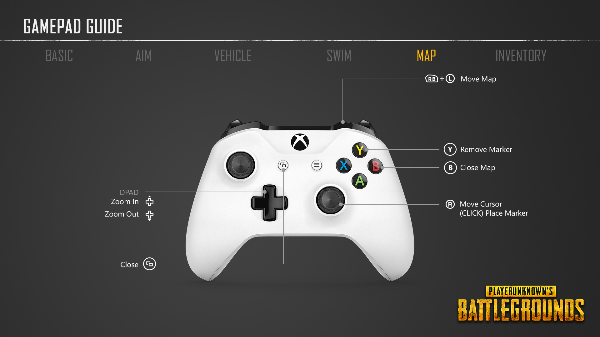 PlayerUnknowns Battlegrounds Controller Layout And