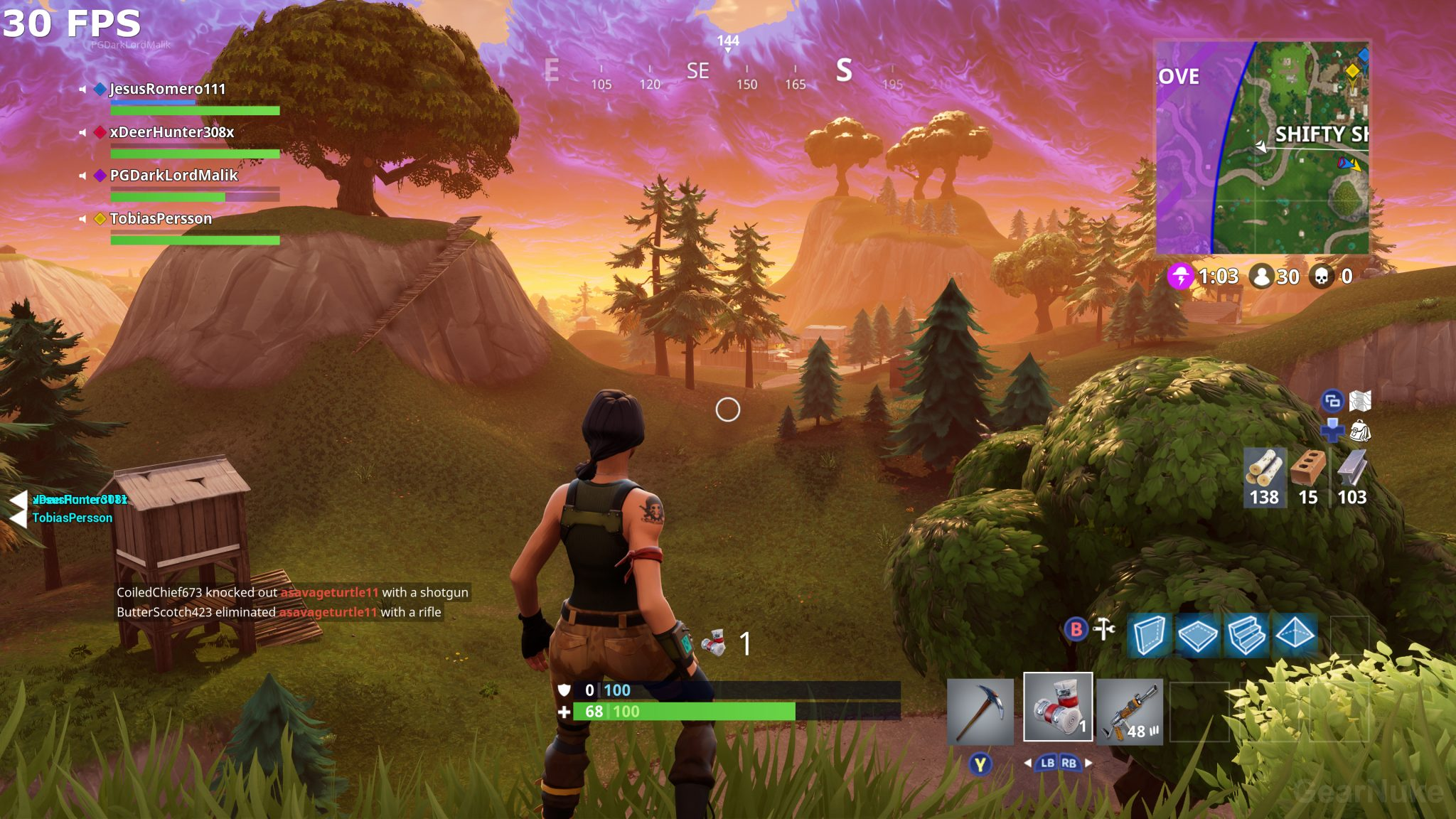 Fortnite Is Stunning At 4K60 FPS On Xbox One X Visual