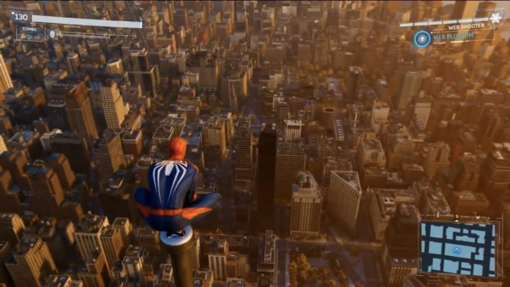Spider Man PS4 World Map Size Revealed Bigger Than All