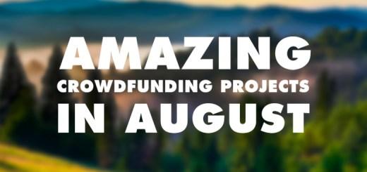 august crowdfund kickstarter indiegogo