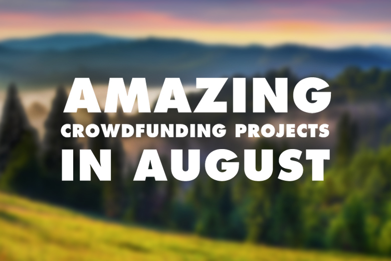 august crowdfund kickstarter indiegogo