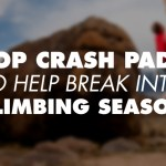5 Top Crash Pads To Help Break Into Climbing Season