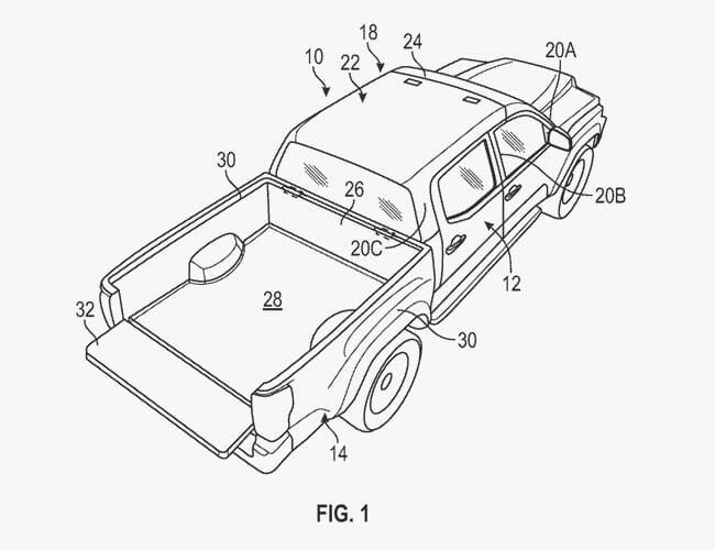 New Ford Patent Targets the Jeep Wrangler and Gladiator