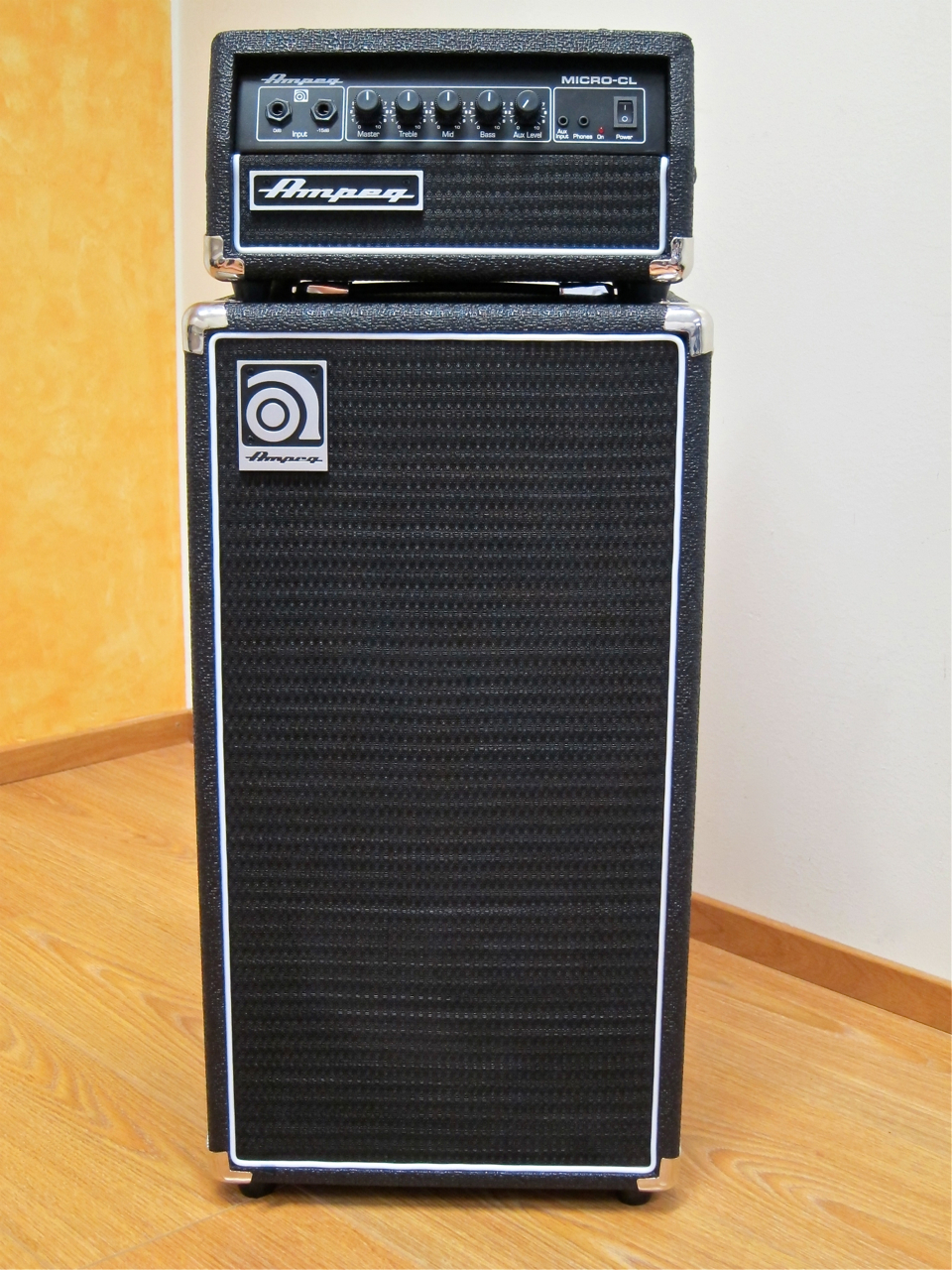 Review Ampeg MicroCL stack  Gear Review Finland
