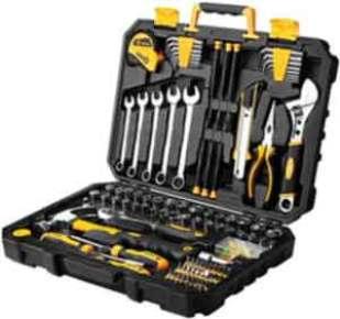 DEKOPRO 158 Piece Tool Set