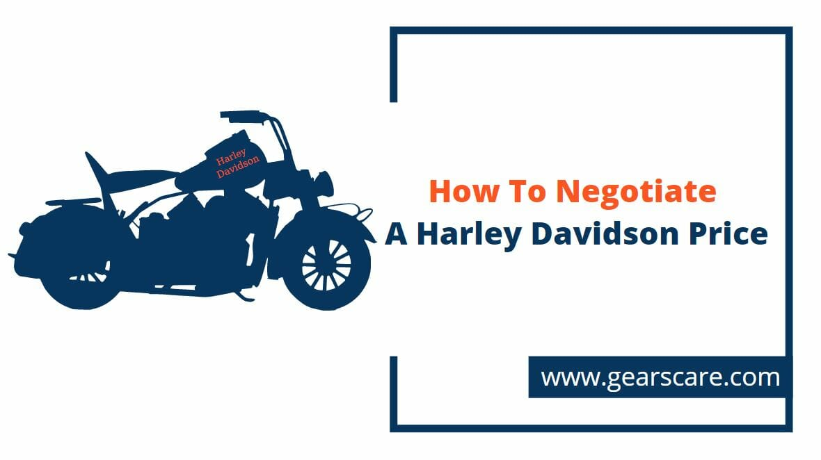 how to negotiate a harley davidson price