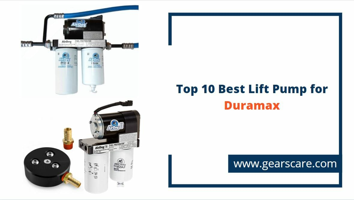 best lift pump for duramax