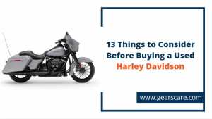 things to consider before buying a used Harley Davidson