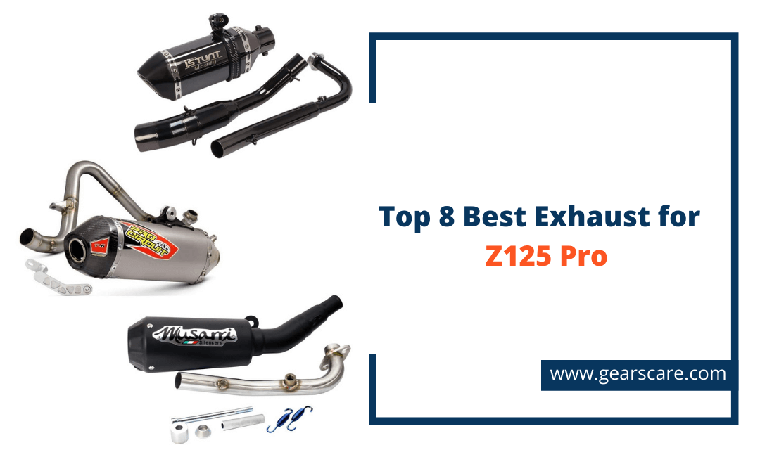 best exhaust for the z125 pro