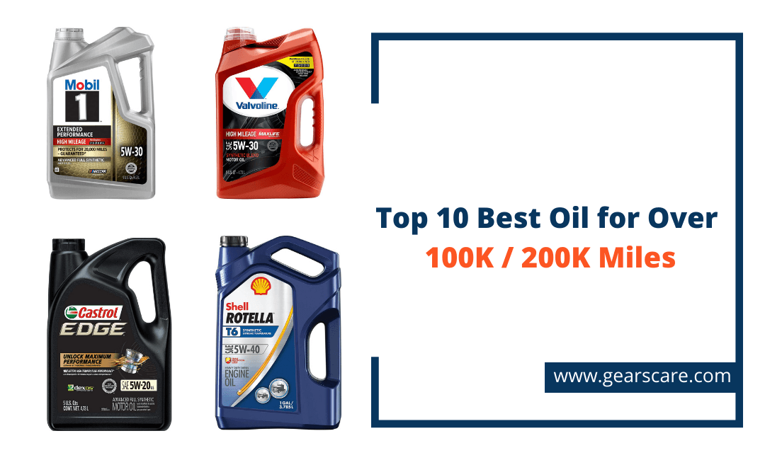 best oil for cars with over 200000 miles