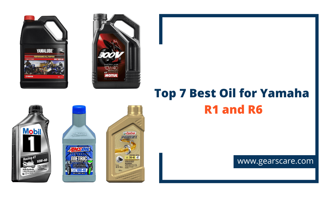 best oil for yamaha r1 and r6