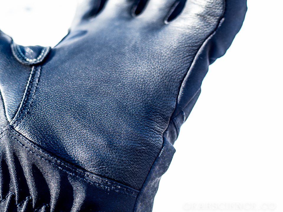 Black Diamond Punisher Glove Review - Leather Palm