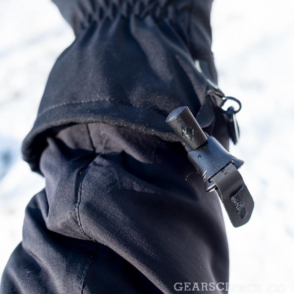 Black Diamond Punisher Glove Review - Drawstring
