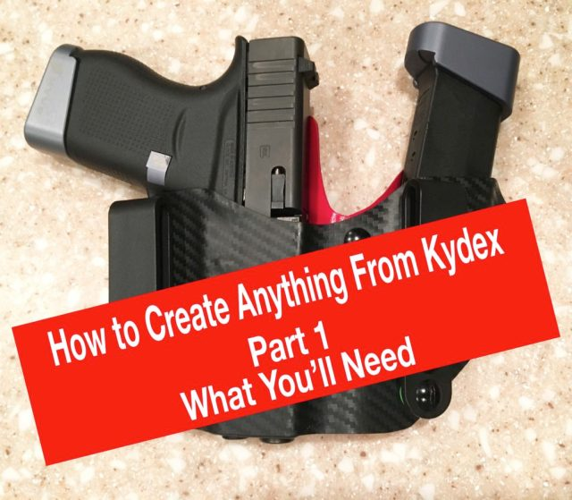 Learn to Make AnyThing from Kydex