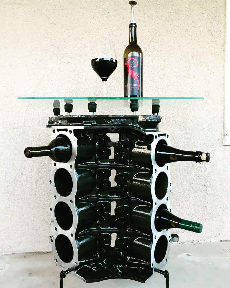 @BensautomotiveDecor wine rack table
