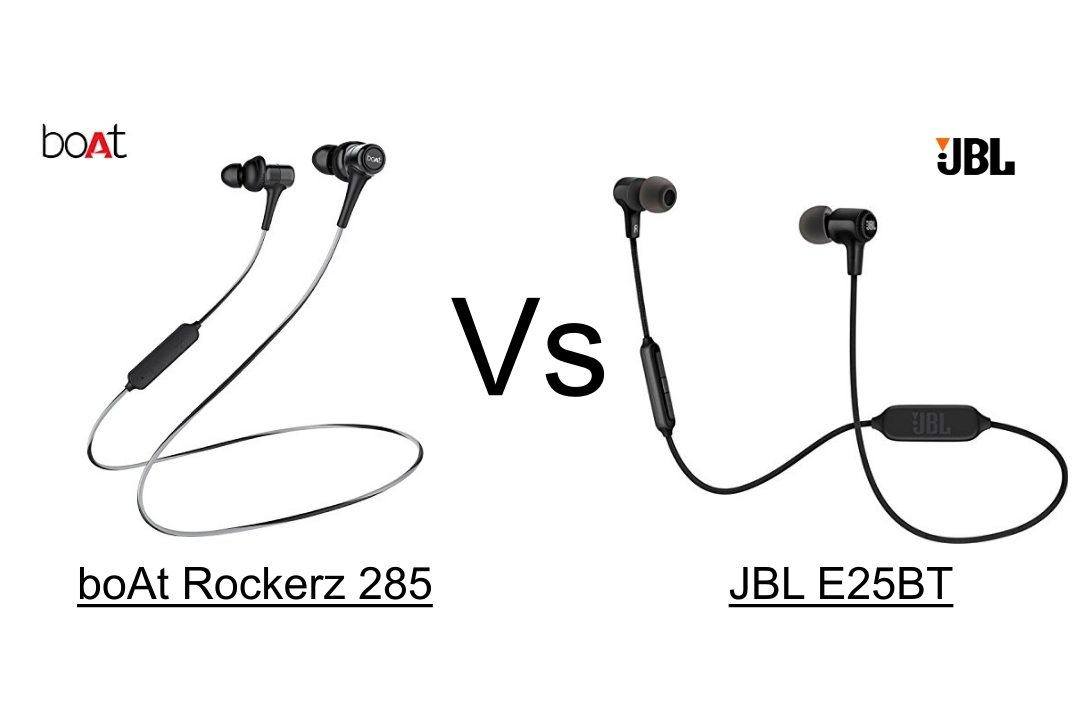 boAt Rockerz 285 vs JBL E25BT Wireless Headphone