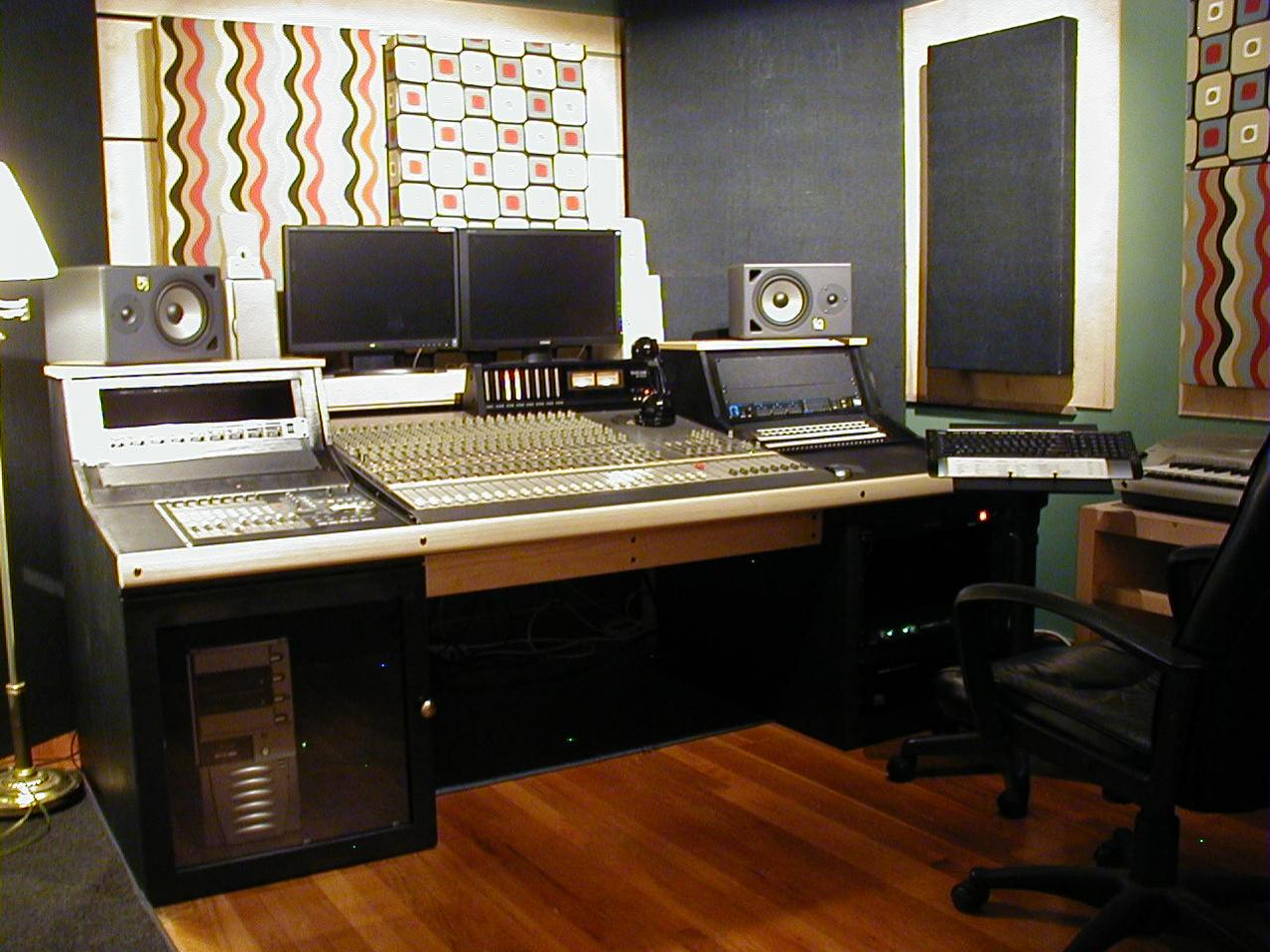 Recording Studio Chair Show Me Your Homemade Or Custom Made Console Or Studio