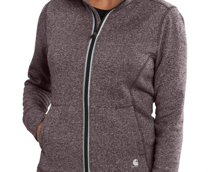 Carhartt Women's Force Extreme Sparrow Heather up close