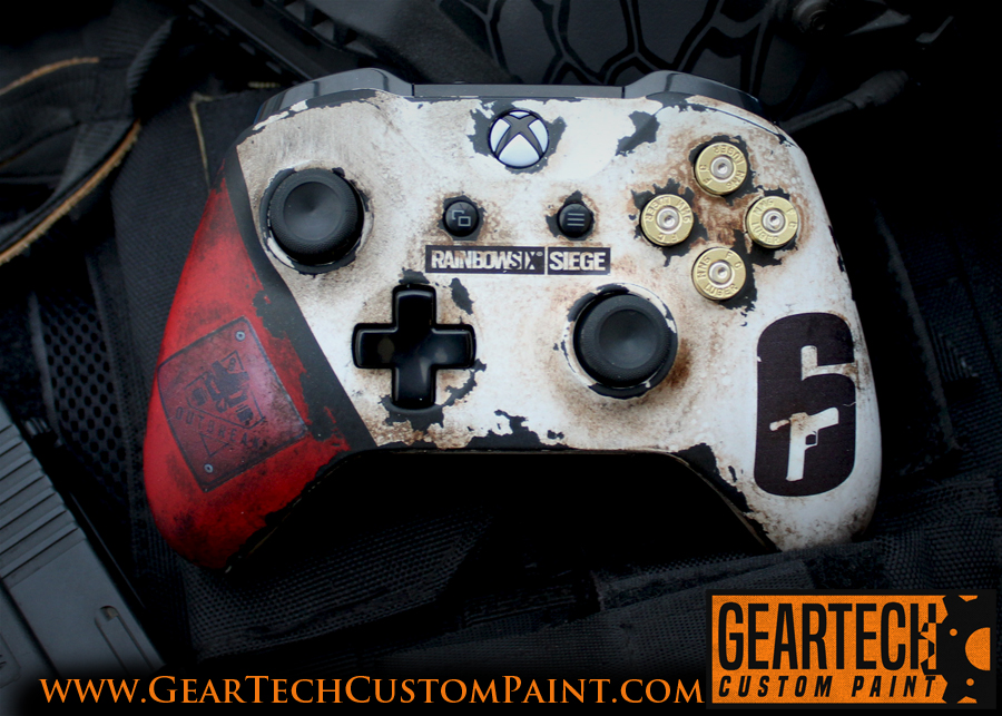 Xbox Rainbow 6 Seige Outbreak Complete Controller GearTech